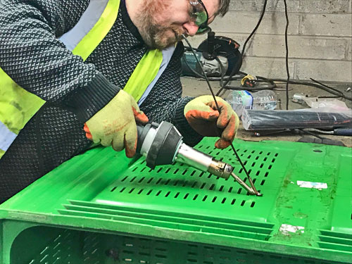 Plastic Pallet Box Repairs