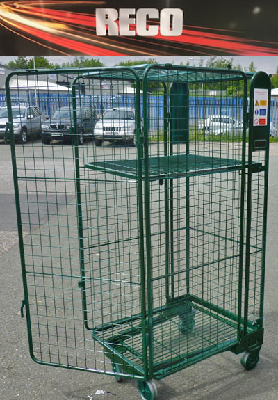 Colour Coded Security Roll Cages