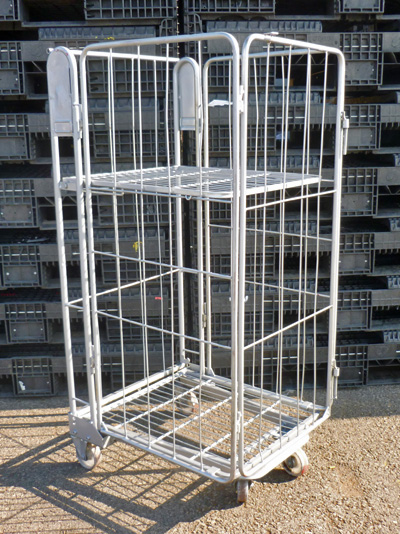4 Sided Rod A Frame Nestable Roll Cages