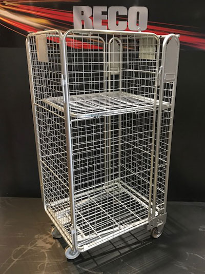 Used 4 Sided Mesh Roll Cages